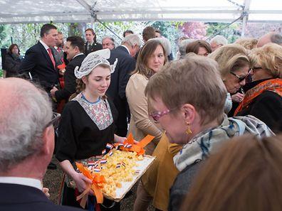 Reception pour la f�te nationale des Pays Bas, le 26 Avril 2016. Photo: Chris Karaba