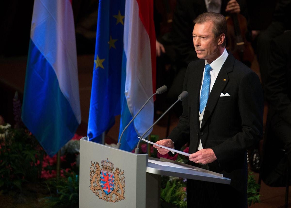 """Großherzog Henri: """"Fakt ist, dass unser Land dem europäischen Gedanken enorm viel zu verdanken hat."""""""