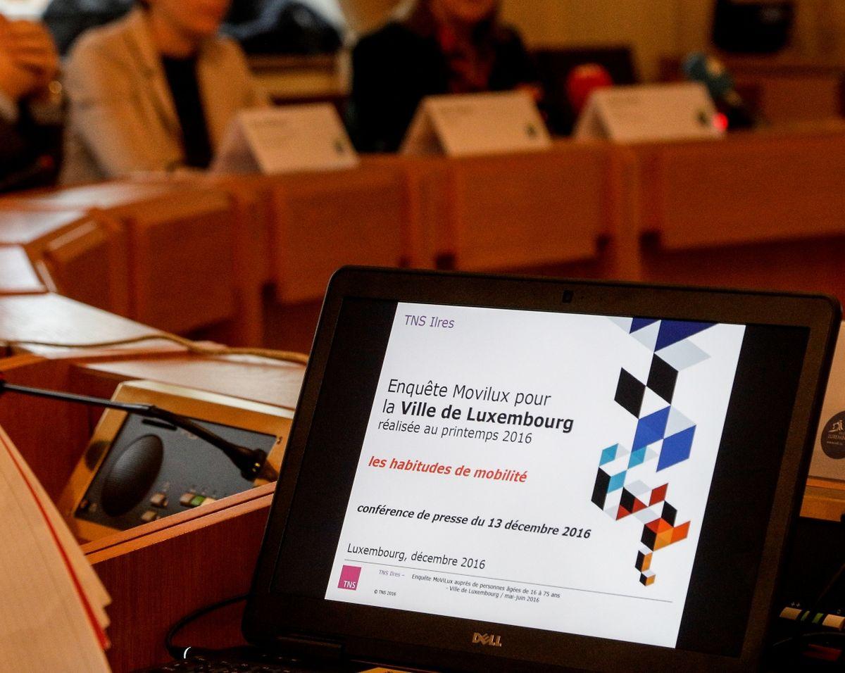 La première étude sur la mobilité au Luxembourg a été présentée mardi.
