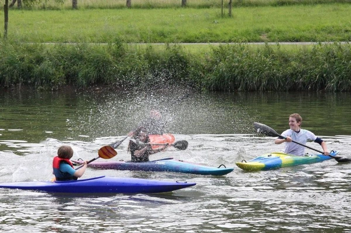 Kayaking is just one activity in our article on what to do with teenagers Photo: Point24