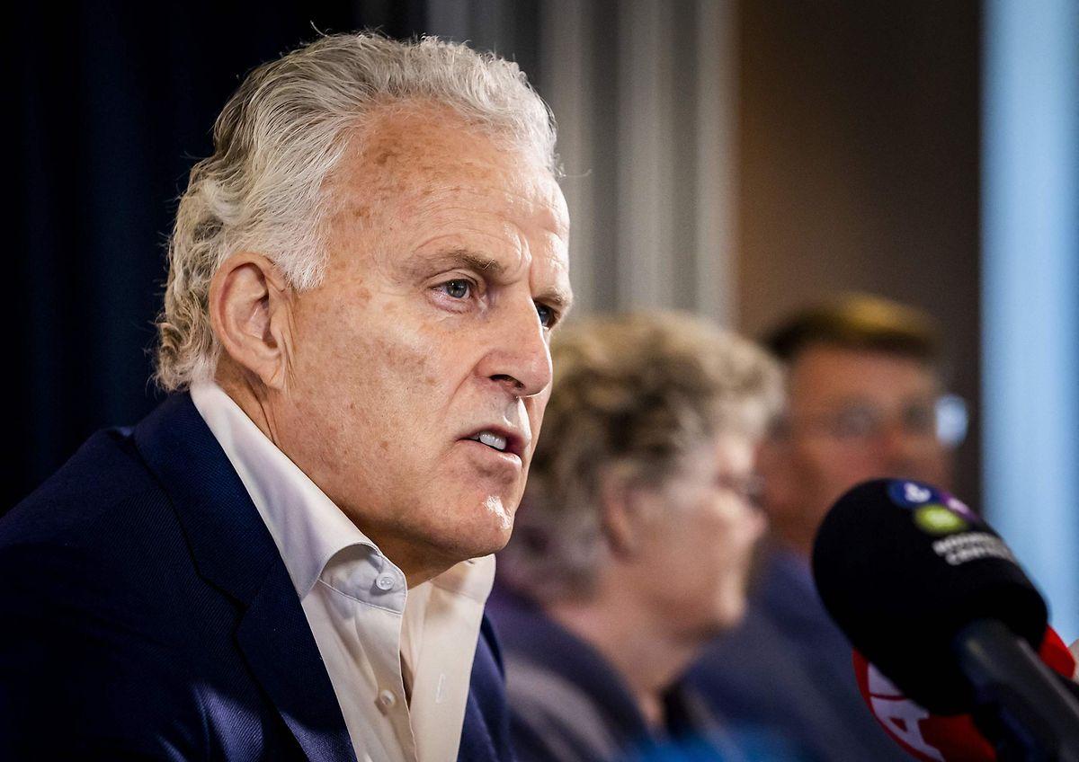 Peter de Vries am 23. Juni 2021.