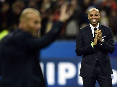 Thierry Henry sera le deuxième adjoint de Roberto Martinez.
