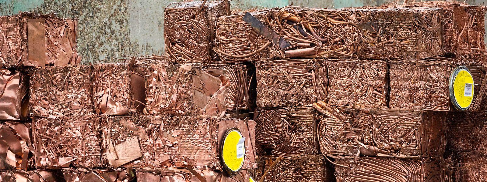 Wertvoller Kupferschrott: Der Preis des Metalls hat sich im letzten Jahr fast verdoppelt.