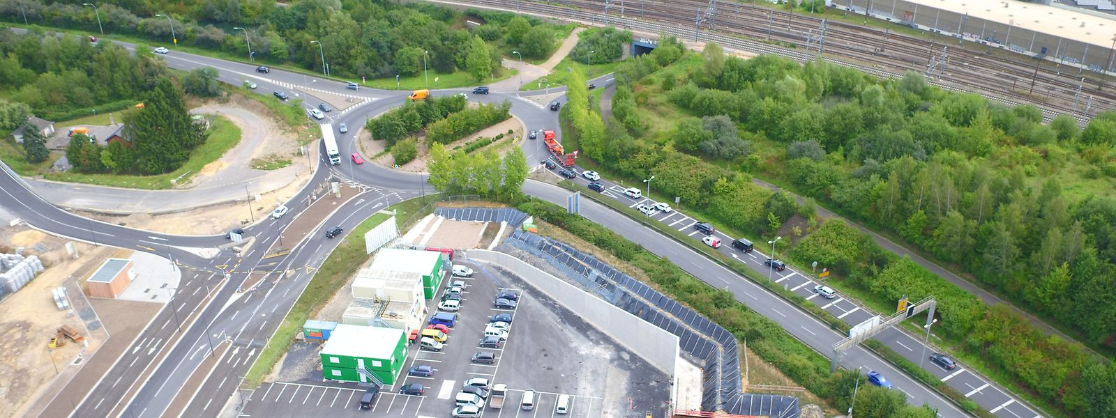 Von Sonntag wird sich die Verkehrsführung ab dem Kreisverkehr Gluck ändern.