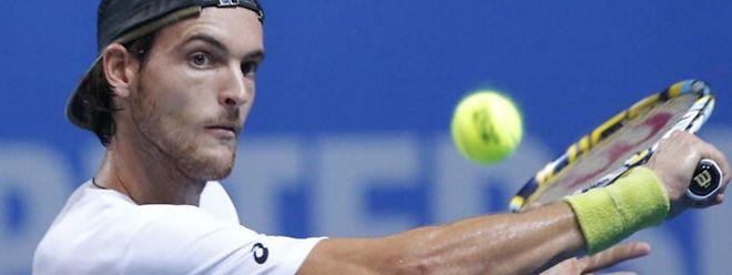 O tenista luso eliminou o n°1 luxemburguês ni Open de Valência com relativa facilidade