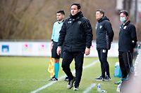 Manuel Correia (Trainer Strassen) / Fussball, Nationaldivision, Niederkorn - Strassen / 14.03.2021 / Niederkorn / Foto: Christian Kemp