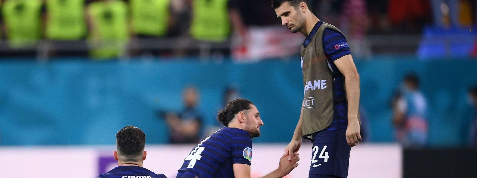 «Il faudra le temps de digérer mais c'est sans doute qu'on ne méritait pas plus», a regretté le sélectionneur français Didier Deschamps.