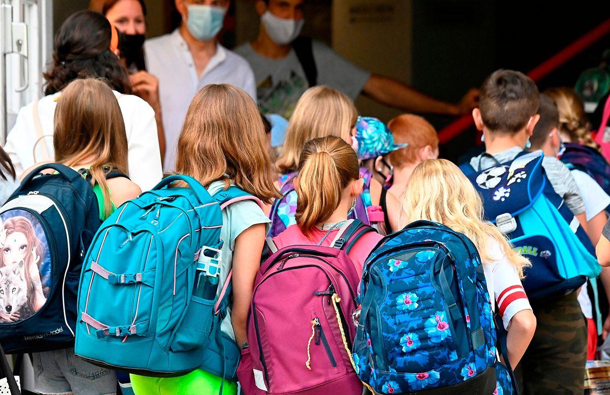 Retour à l'école pour des dizaines de milliers d'élèves en Allemagne.