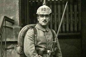 Soldat des Braunschweiger Infanterieregimentes Nr. 92.
