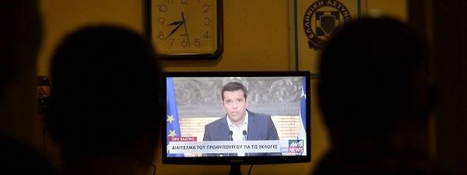 Le Premier ministre grec Alexis Tsipras a annoncé sa démission jeudi soir lors d'une allocution télévisée et appelé à des élections législatives anticipées.