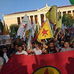O mundo manifesta-se contra os ataques da Turquia ao povo curdo da Síria