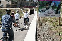 VëloViaNorden Fahrradwochenende Gemeinden Clerf, Kiischpelt Weiswampach Ulflingen Vëlosummer + Einweihung Unterführung Fahrradunterführung PC 21 Clerf Clervaux