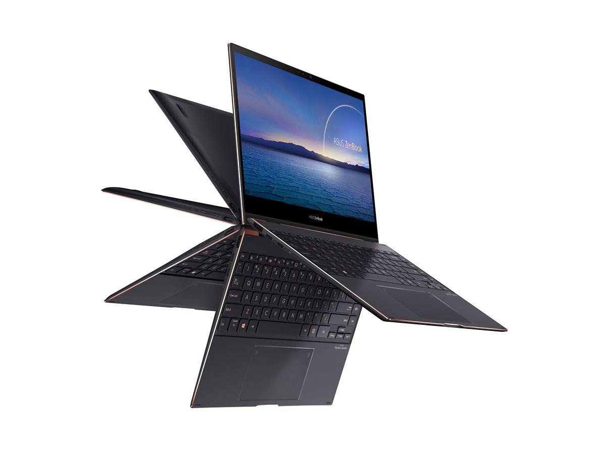 Leicht, flexibel, mit einem Preis von mindestens 2.500 Euro aber auch teuer: Das Asus ZenBook Flip S (UX371).