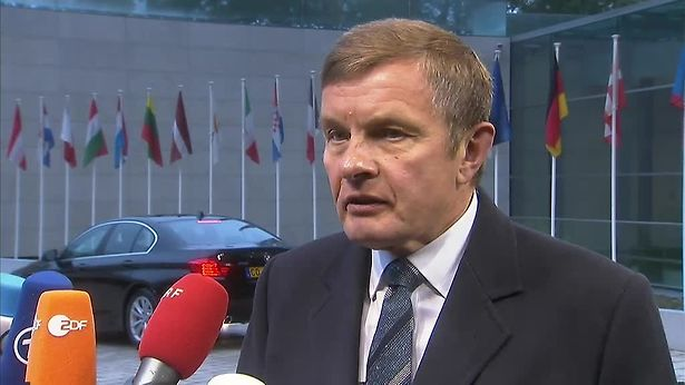 David Jones, Minister of State at the Department for Exiting the European Union, was in Luxembourg to attend a meeting of the EU's General Affairs Council.