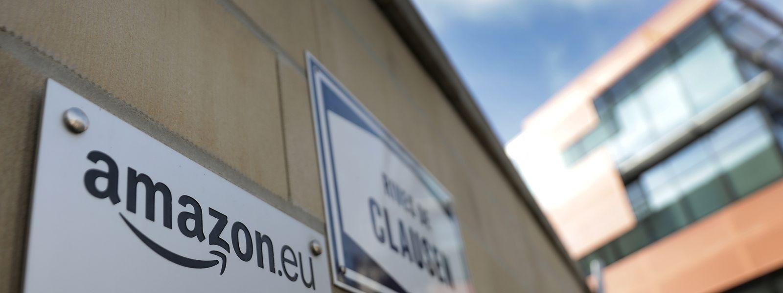 La société américaine de livraison Amazon emploie quelque 2.200 personnes au Luxembourg
