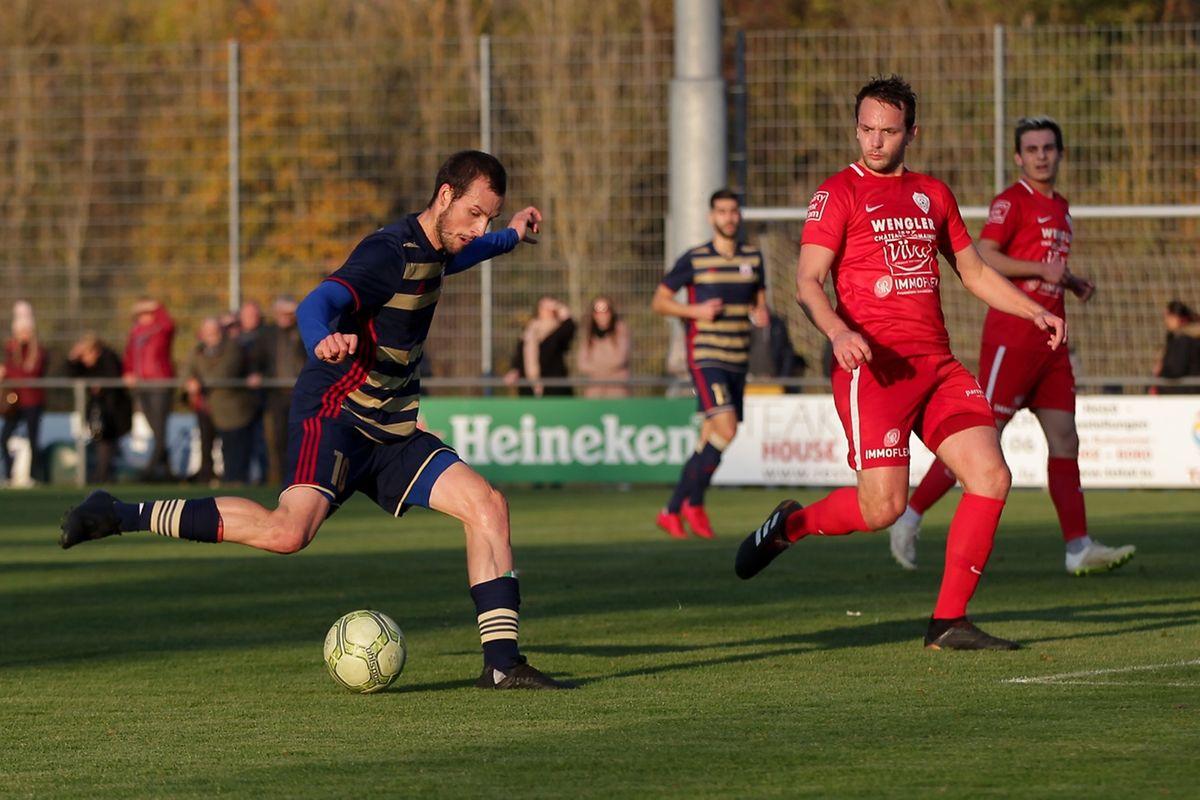 Stefano Bensi et les joueurs du Fola ont joué au mieux avec leurs arguments offensifs.