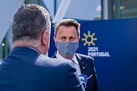 Xavier Bettel nimmt am EU-Gipfel in Portugal teil.