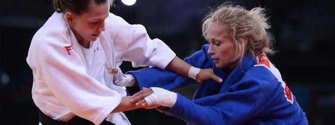 Platz fünf für Marie Muller (links): Trotz einer guten Leistung reichte es nicht für eine Bronzemedaille.