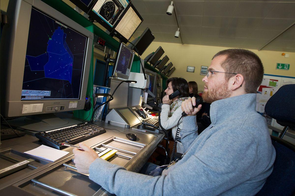 Die luxemburgischen Radarlotsen sind für den Luftraum bis 5000 Meter zuständig.