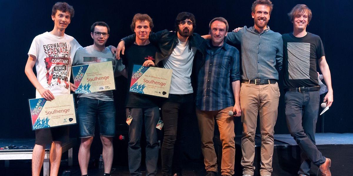 Die Luxemburger Band Soulhenge konnte drei Preise mit nach Hause nehmen.