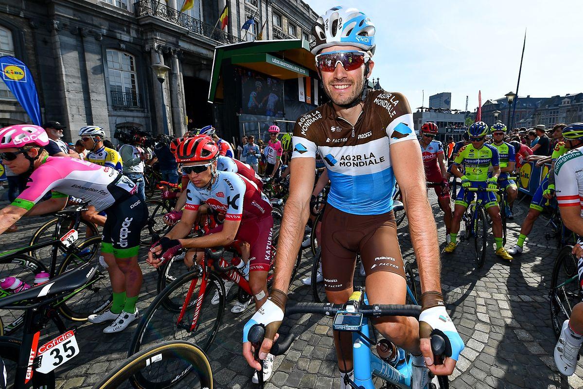 Ben Gastauer (Ag2r) vor dem Start.