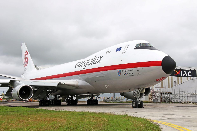 Cargolux-Frachter im Laufe der Jahre