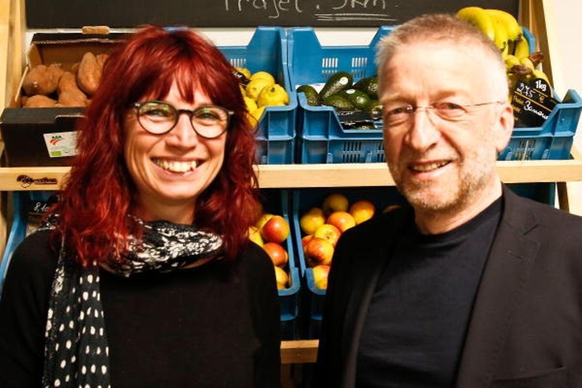 Myriam Cecchetti und Jos Piscitelli.