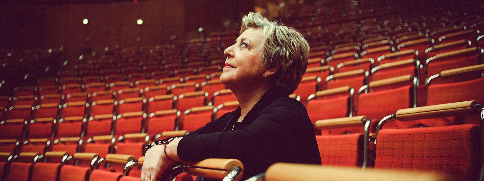 """Blickt hoffnungsvoll in die Zukunft: Marie-Luise Marjan möchte auch mit 79 Jahren nicht zum alten Eisen gezählt werden. Die Schauspielerin will nach dem Ende der TV-Kultserie """"Lindenstraße"""" weiterhin vor der Kamera stehen."""