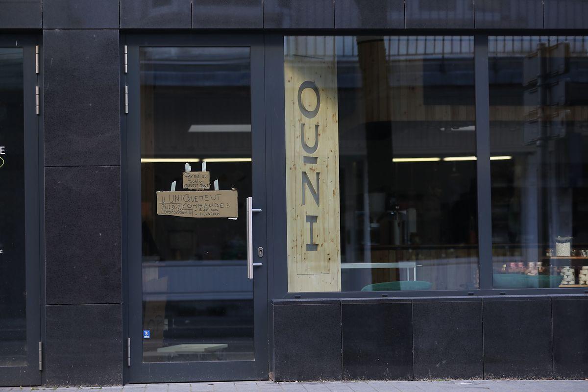 Das Geschäft Ouni, das gerade erst eine Filiale in Düdelingen eröffnet hatte, liefert vorerst nur Bestellungen aus.