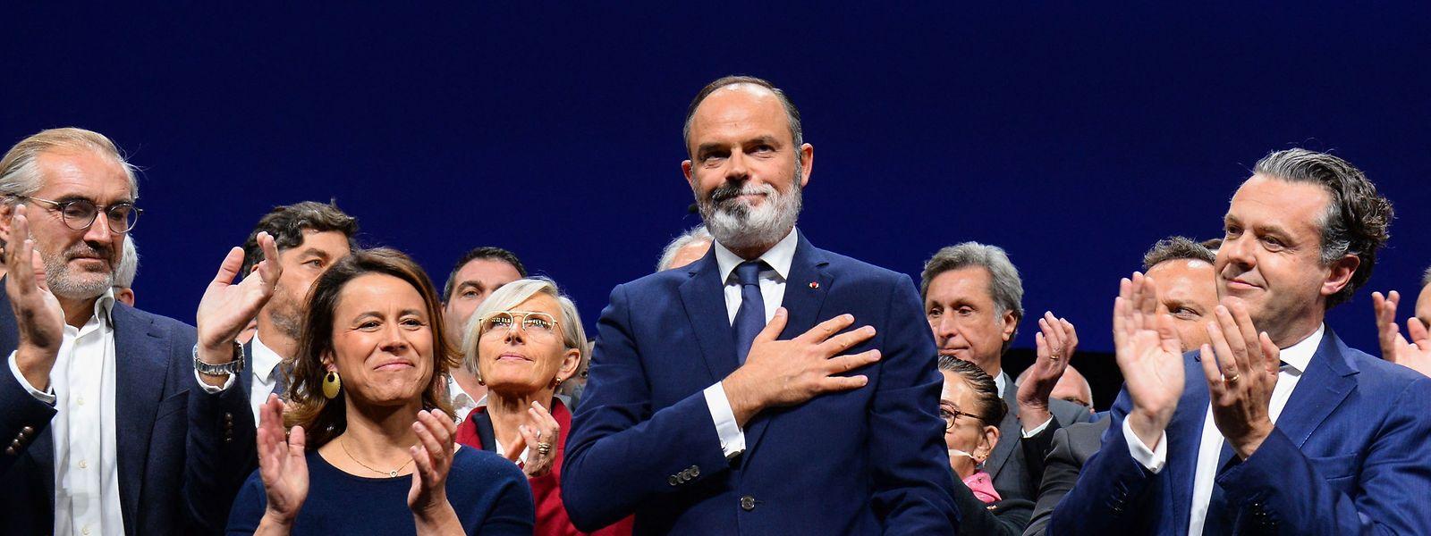 """Édouard Philippe hat mit """"Horizons"""" eine neue konservative Partei gegründet."""