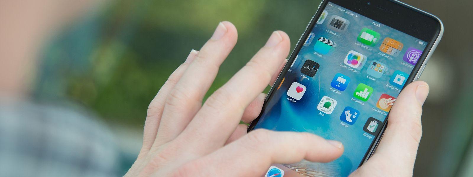 Die neuen Smartphones iPhone 6s und 6s Plus haben die Gewinnzahlen von Apple stark ansteigen lassen.
