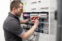 Meisterbrief, Chantier Electricité, Elektriker, foto: Chris Karaba/Luxemburger Wort