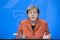 13.12.2020, Berlin: Bundeskanzlerin Angela Merkel (CDU) äußert sich nach der Schaltkonferenz von ihr mit den Ministerpräsidenten der Länder bei einer Pressekonferenz im Bundeskanzleramt zum weiteren Vorgehen in der Corona-Krise. Foto: Bernd von Jutrczenka/dpa-Pool/dpa +++ dpa-Bildfunk +++
