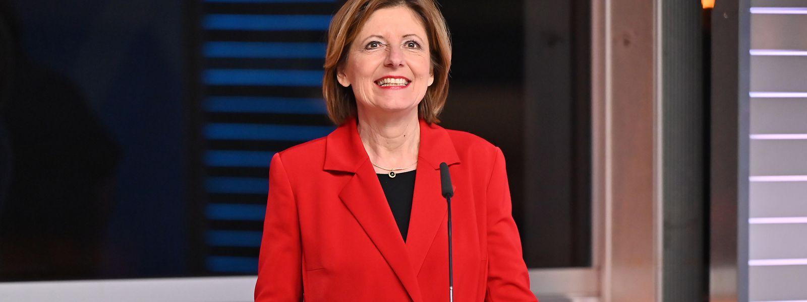 Malu Dreyer bleibt Ministerpräsidentin von Rheinland-Pfalz.