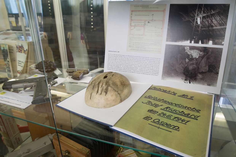 Kriminalgeschichte hautnah erleben: 5000 Exponate stehen im Polizeimuseum bereit.
