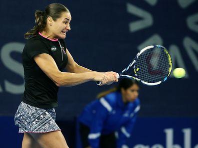 Monica Niculescu erreichte das Endspiel zum dritten Mal.