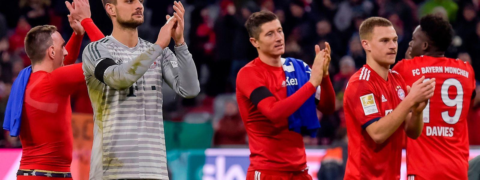 Die Stars des FC Bayern haben momentan das Glück auf ihrer Seite.