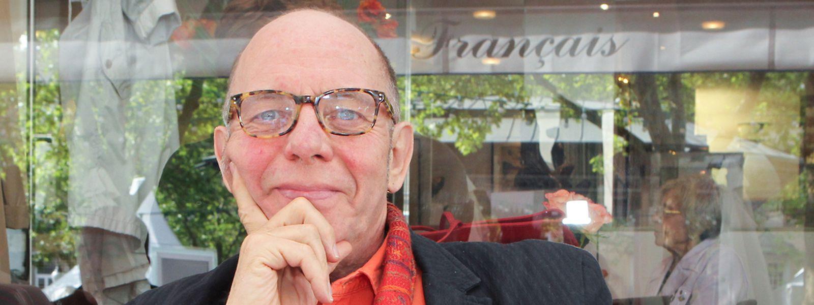 Pierre Joris kommt immer wieder gerne nach Luxemburg zurück.