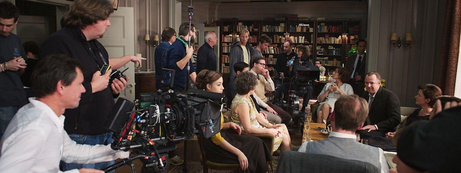 "Amour Fou als Produzent: Dreharbeiten zu ""Hannah Arendt"" 2011 in Luxemburg."