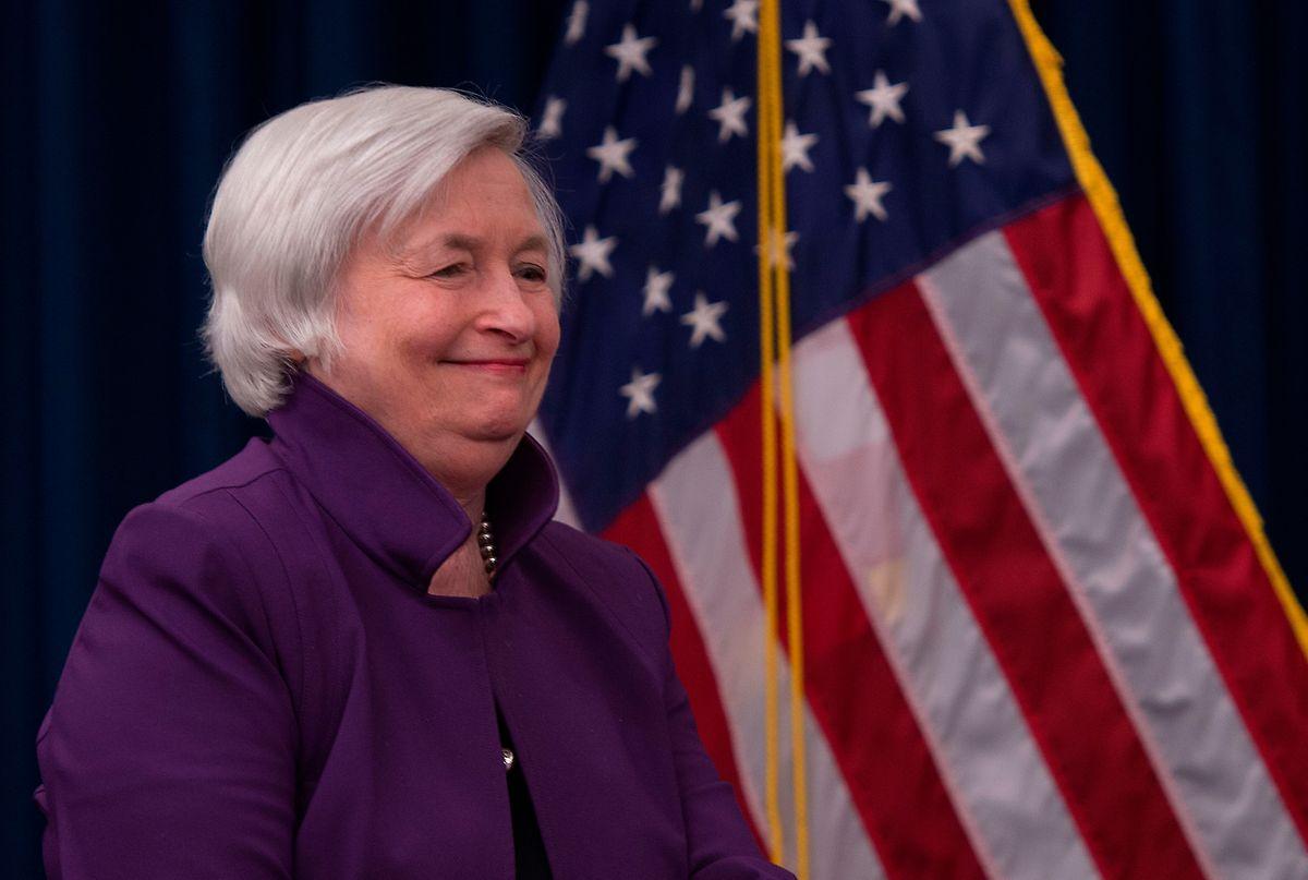 Die frühere FED-Chefin Janet Yellen soll künftig an der Spitze des US-Finanzministeriums stehen.