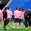 Die Spieler von Atletico Madrid bilden ein starkes Kollektiv.