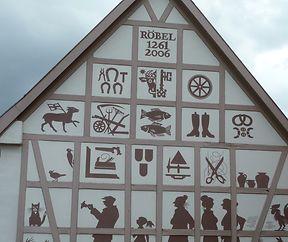 Fassaden in Mecklenburg-Vorpommern