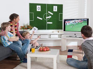 Mit dem Wandspielfeld lassen sich die Tipps der Familie festhalten.