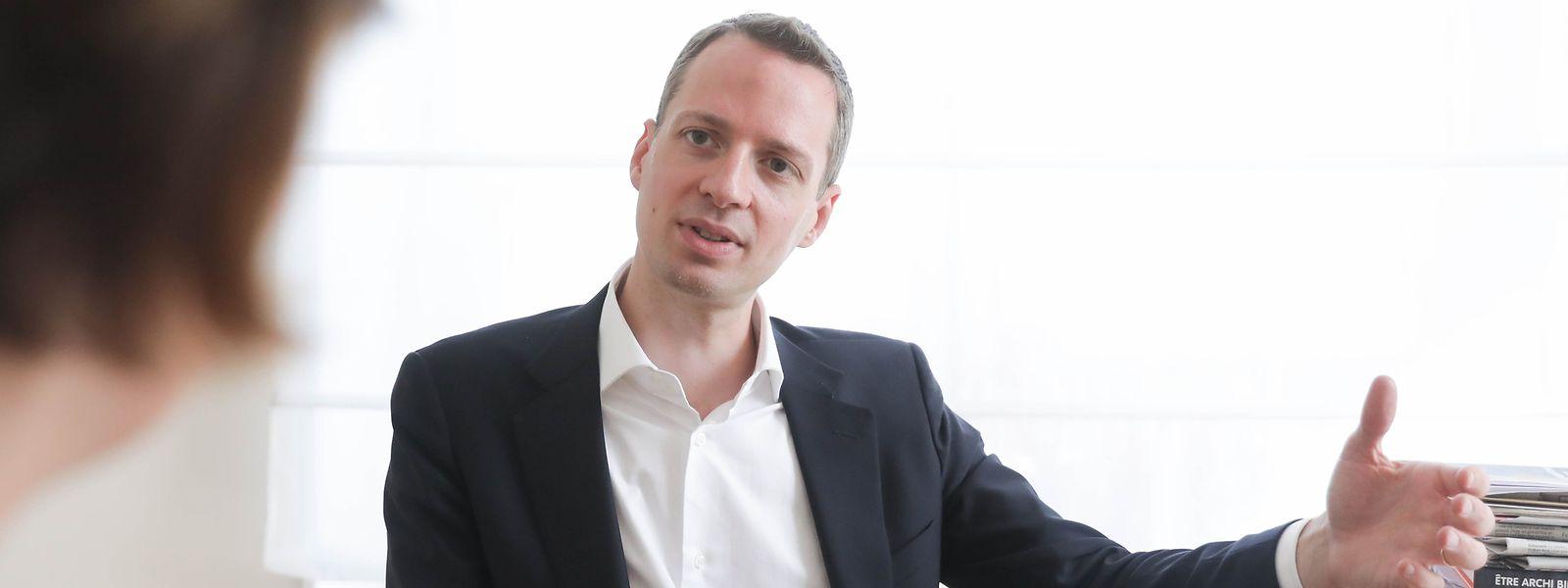 Serge Wilmes ist als Erster Schöffe für den Einzelhandel zuständig.