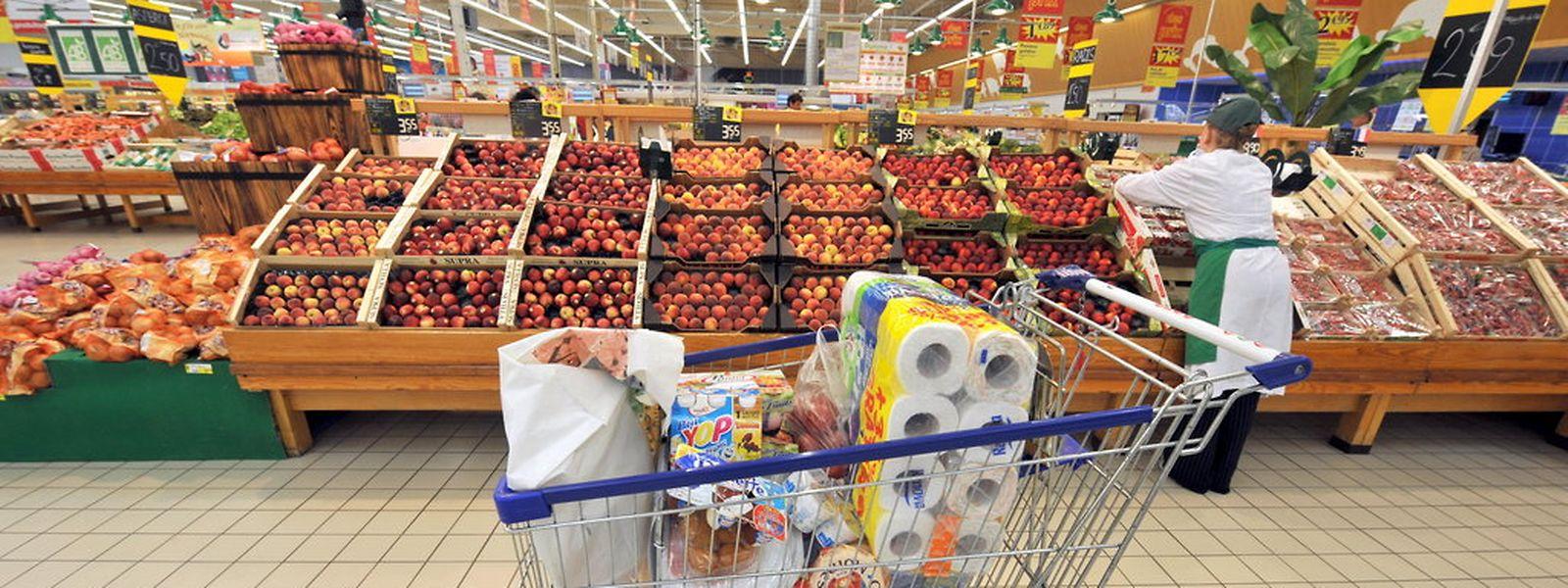 Le taux d'inflation annuel reste, avec +0,6%, quasiment stable pour le quatrième mois consécutif. (Photo: AFP)