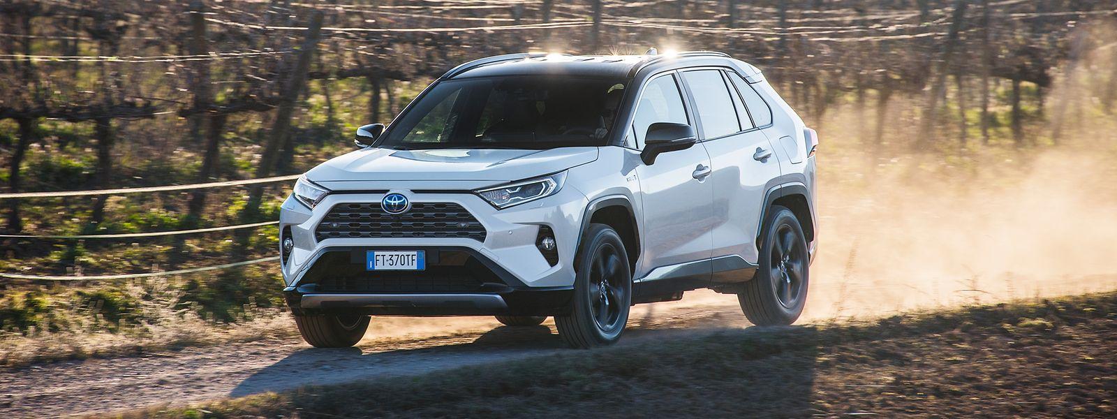 In seinem breitschultrigen SUV hat Toyota Abenteuer und Raffinesse miteinander vereint. Auch auf unbefestigten Wegen federt der neue RAV4 wie eine Limousine.