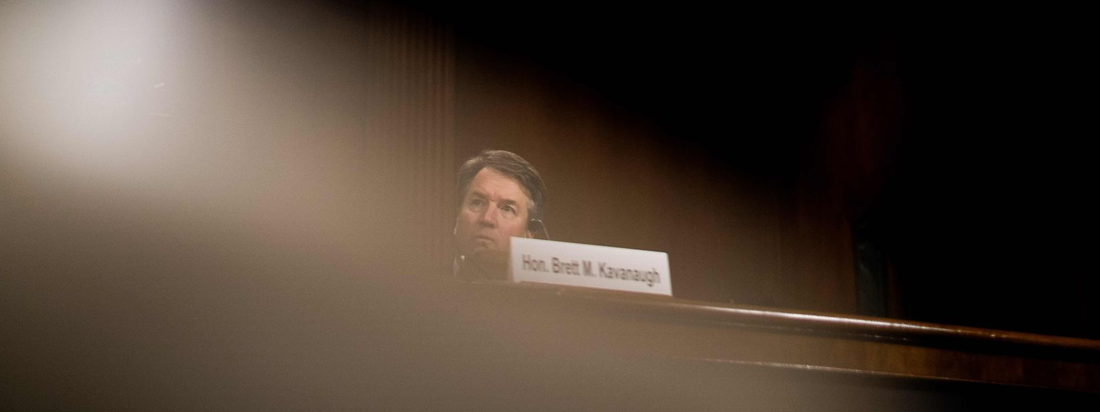 Brett Kavanaugh während der Anhörung.