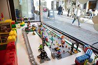 Lokales,Pop-Up-Stores in der Hauptstadt -  Bricks4Kidz (38, rue Philippe II) . Foto: Gerry Huberty/Luxemburger Wort