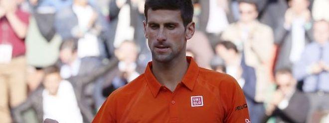 Le Serbe Novak Djokovic semble inarrêtable cette année à Roland-Garros