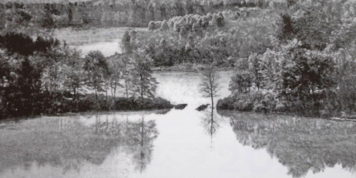 So sah der Stauweiher aus. Das Foto stammt von vor 1930.
